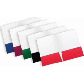 Small Quantity Pocket Folders (Colors)