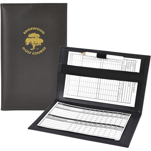 Brown Golf Pro Scorecard Holder