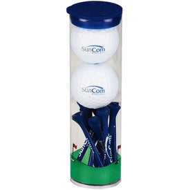 Promotional 2 Ball Tall Tube