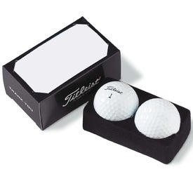 Logo 2-Ball Business Card Box