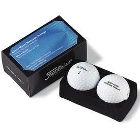 2-Ball Business Card Box