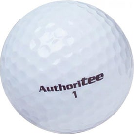 Logo Authoritee Golf Balls
