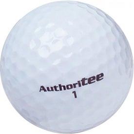 Logo Authoritee Golf Balls