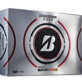Bridgestone B330-RXS Golf Balls Printed with Your Logo