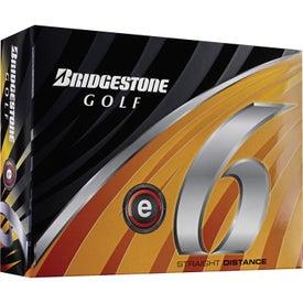 Personalized Bridgestone E6 Golf Ball