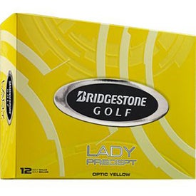 Bridgestone Lady Precept Golf Ball with Your Slogan