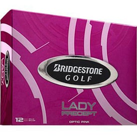 Logo Bridgestone Lady Precept Golf Ball