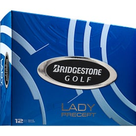 Personalized Bridgestone Lady Precept Golf Ball