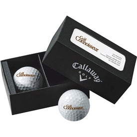 Company Callaway 2-Ball Business Card Box HEX Chrome