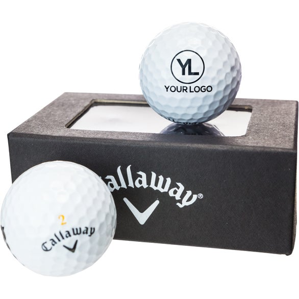 Callaway Golf 2 Ball Business Card Box