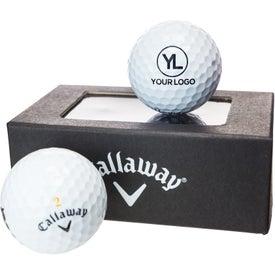 Callaway Golf 2 Ball Business Card Box for Marketing