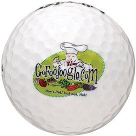 Printed Callaway Golf HEX Warbird Golf Ball