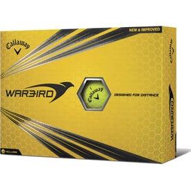 Monogrammed Callaway Golf HEX Warbird Golf Ball