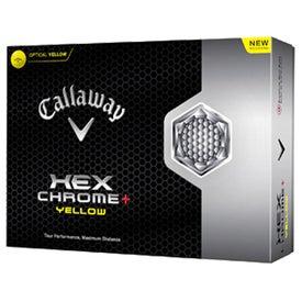 Hex Chrome Plus Golf Ball for Marketing