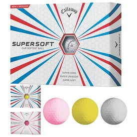 Logo Callaway Supersoft Golf Ball