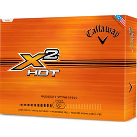 Callaway X2 Hot Golf Ball for Promotion