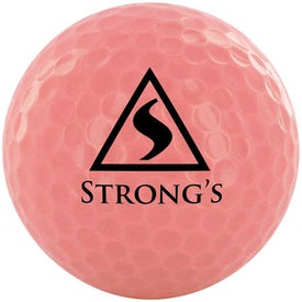 Golf Balls with Your Slogan
