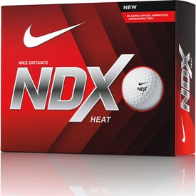 Printed Nike NDX Heat Golf Ball Std Serv