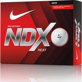 Printed Nike NDX Heat Golf Ball Std Serv