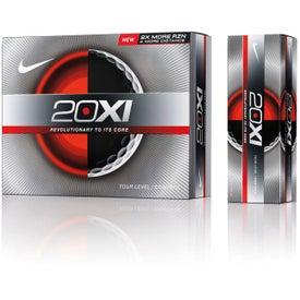 Customized Nike 20XI Control Golf Balls