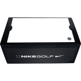 Imprinted Nike 2 Ball Business Card Box