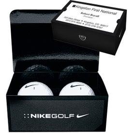 Nike 2 Ball Business Card Box