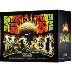 Mojo Golf Ball (24 Pack, Nike, Standard Service)