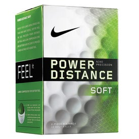 Advertising Nike Power Distance Soft Golf Ball