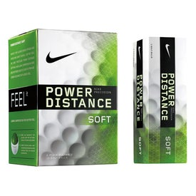 Nike Power Distance Soft Golf Ball for Advertising