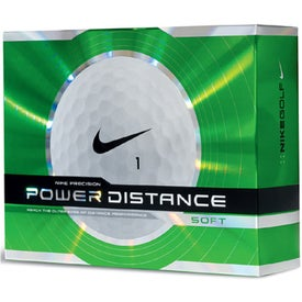 Nike Power Distance Soft Golf Ball Imprinted with Your Logo