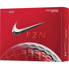 Nike RZN Red Golf Ball with Your Logo