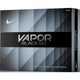 Nike Vapor Black 2.0 Golf Ball with Your Logo