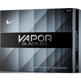 Nike Vapor Black 2.0 Golf Ball with Your Logo