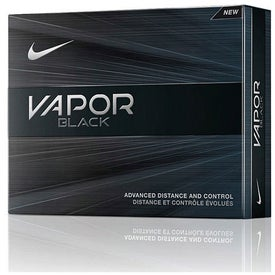 Nike Vapor Black Golf Balls Branded with Your Logo