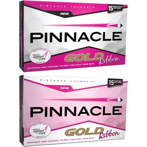Pinnacle Gold Ribbon 15 Golf Ball Bonus Pack