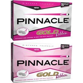 Pinnacle Gold Ribbon 15 Golf Ball Bonus Pack
