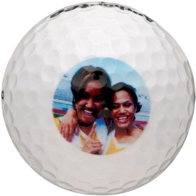 Pinnacle Ribbon Golf Ball Branded with Your Logo