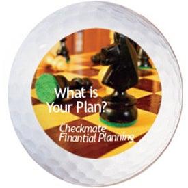 Monogrammed Pro-flite Golf Balls