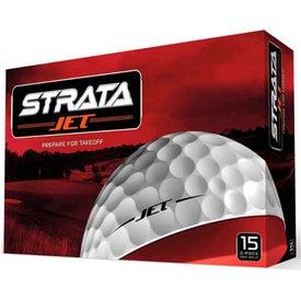Customized Strata Jet Golf Balls