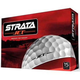 Promotional Strata Jet Golf Balls