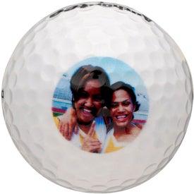 Advertising TaylorMade TP Black Golf Ball