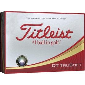 Titleist DT TruSoft White Golf Balls (Standard Service)