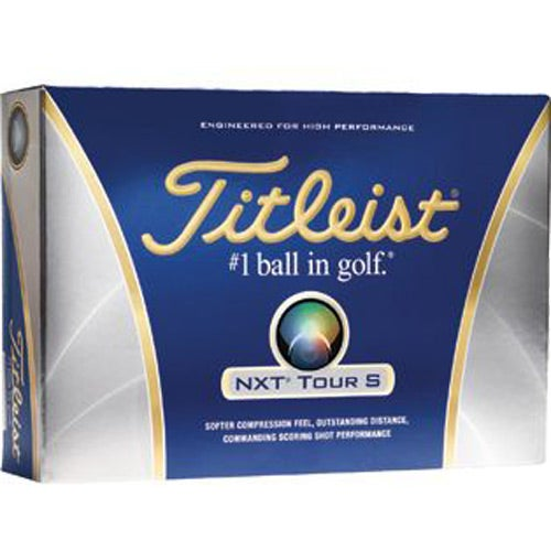 Durable Titleist NXT Tour S Golf Balls