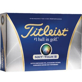 Titleist NXT Tour S Imprinted Golf Balls