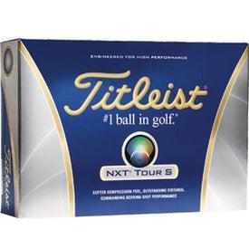 Titleist NXT Tour S Imprinted Golf Balls