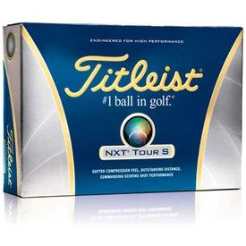 Titleist NXT Tour S Golf Balls (Standard Service)
