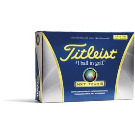 Titleist NXT Tour S Yellow Golf Balls for your School