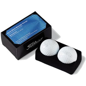 Printed Titleist DT Solo 2-Ball Business Card Pack