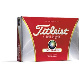 Titleist DT Solo Golf Ball (Standard Service)
