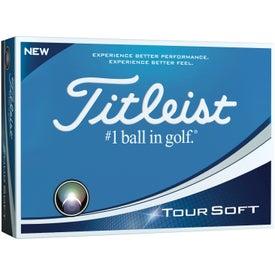 Titleist Tour Soft Standard Serve Golf Balls